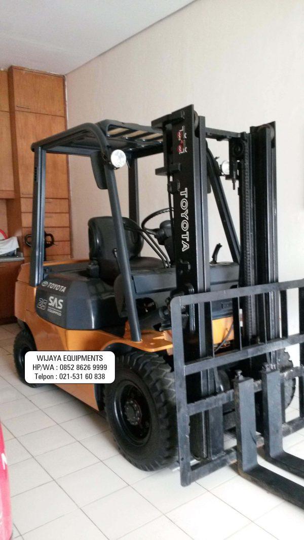 Forklift Toyota Rekondisi